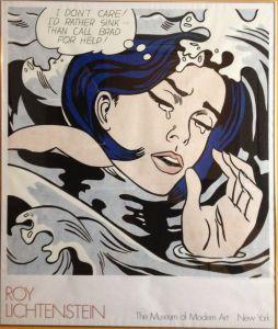 Roy Lichtenstein - ovviamente semplice manifesto